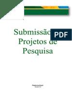Submissão de Projeto de Pesquisa