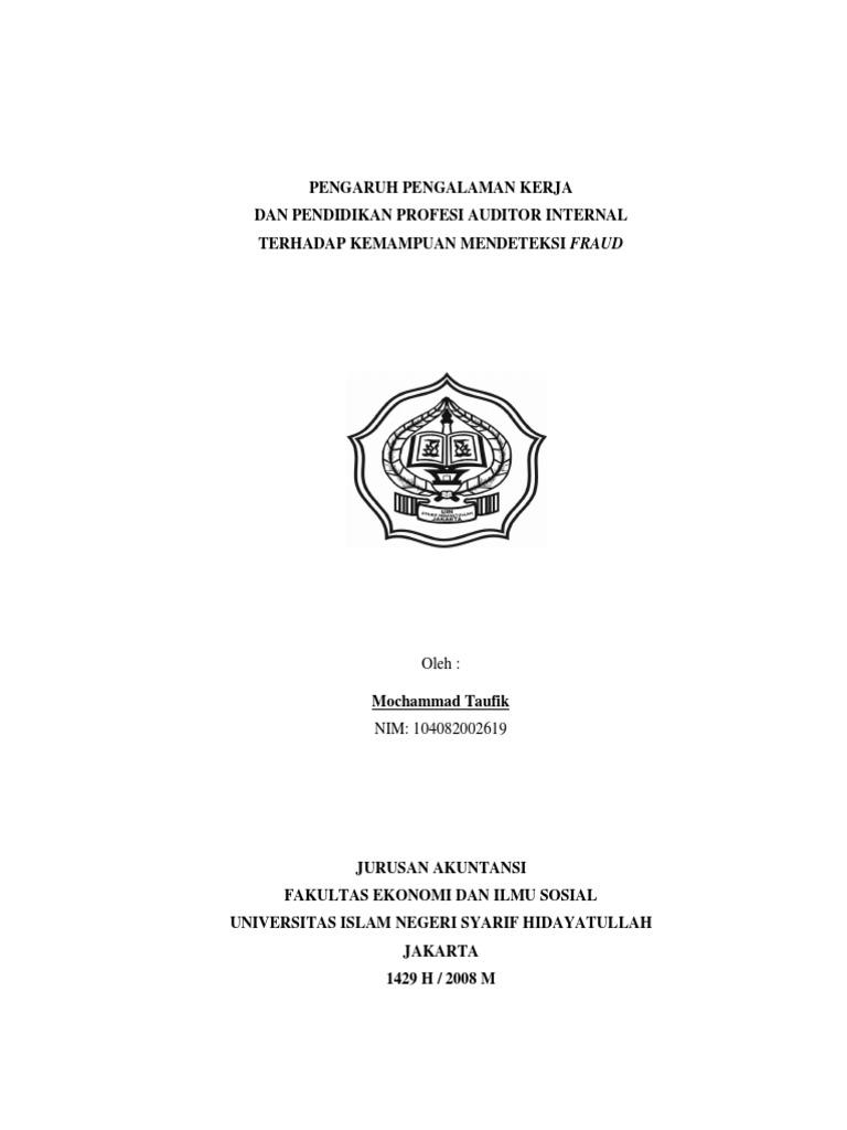 Skripsi Feb Akuntansi Sektor Publik