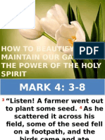 How to Beautify and Maintain Your Garden in the Power of the Holy Spirit