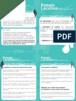 Plaquette RLa consultant - concertation