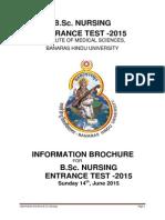 Information Brochure B_ Sc Nursing 2015