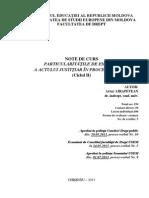 011 - Particularitatile de Emitere a Actului Justitiar in Procesul Penal