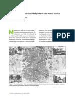 Cuando La Ciudad Parte de Una Matriz Teórica