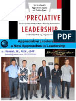 Pelatihan APPRECIATIVE LEADERSHIP_bagi Karyawan PDAM Tirta d (Sumut) Di Hotel Mitra Bandung