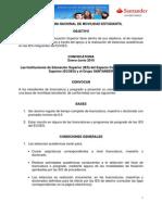 Ecoes Convocatoria Santander Enero Junio 2010