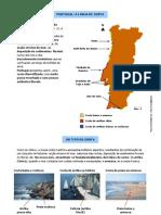 Portugal - A linha de costa (10.º)