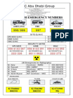 Emergency Numbers Rev10