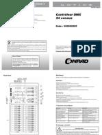 590295 an 01 Fr Controleur Dmx 24 Canaux