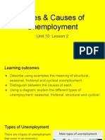 unit 10 - lesson 2 types of unemployment
