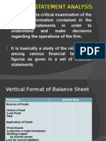 Financial Statement Analysis 1