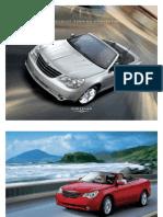 2009 Sebring Convertible Brochure