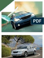 2009 Sebring Sedan Brochure
