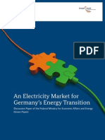 An Electricity Market for Germany's Energy Transition