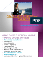 Best Oracle Apps Functional Online Training in UK, USA,Canada.