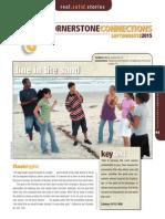 3rd Quarter 2015 Lesson 11 Cornerstone Connections