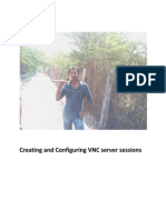 Creating and Configuring VNC Sessions