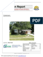 victory home inspection report