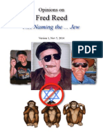 Fred Reed Not Naming the Jew
