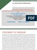 Eyoh Phd Proposal Seminar 1 Prof Okeke
