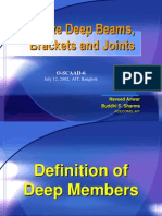 Design of Deep Beams and Joints