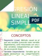 Regresión Lineal Simple (2)