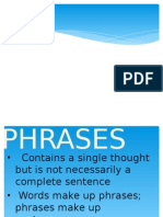 PHRASES - English Report