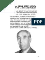 César Godoy Urrutia