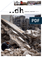 FIDH Annual Report 2013