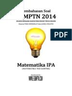 Soal Sbmptn Tkd Saintek Matematika 2014 & Pembahasan