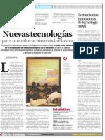 Nuevas tecnologías educacion inclusiva