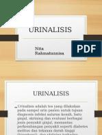 Urinalisa