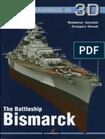 Kagero - The Battleship Bismark (Super Drawings in 3D)
