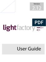 LightFactory2 User Guide