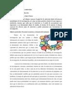 Teoría y Técnica de La Entrevista Primer Encuentro.