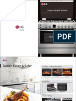 LG Gas Cookers Catalogue
