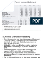 Financial Forecasting Examples