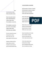 Letras do Cante/ Cante Lyrics 1