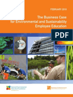 The Business Case for Environmental and Sustainability Employee Education