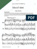 W. Ralph Driffill - Suite No. 1 in F Minor