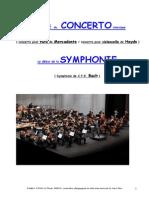 Concerto Symphonie