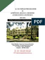Science Olympiad Brochure 2015 16