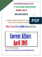 CA4examz April Second Week CA