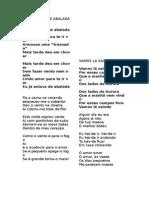 Letras do Cante 6/ Cante Lyrics 6
