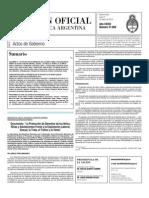 Boletin Oficial 08-03-10 - Suplemento Actos de Gobierno