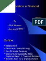 TQM Finance