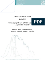 Time-Varying Mixture GARCH Models And