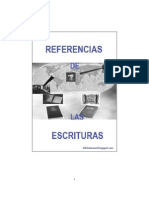 Referencias de Las Escrituras