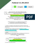 Diário Federal 11.09.2015