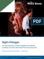 Right of Reagan