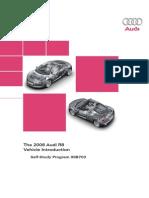 99B703 Audi R8 2008 Self Study Program